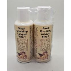 Malý krakelovací lak krok 1 a krok 2, 2x 50 ml