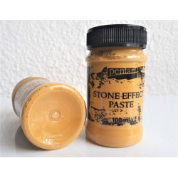 Kamenná pasta odstín hlína 100 ml