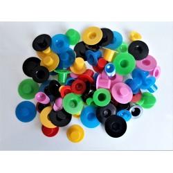 Klobouček plastový, různé barvy
