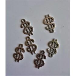 Přívěsek dolar průměr 1cm
