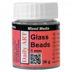 Kuličky skleněné 1 mm 30 g Daily ART