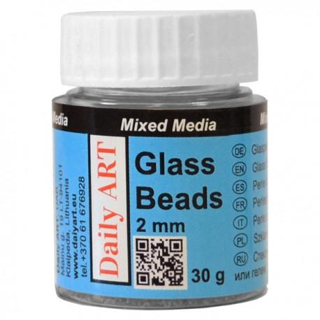 Kuličky skleněné 2 mm 30 g Daily ART