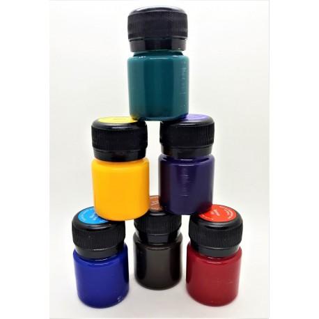 Vitrážní barvy sada 6 x 20 ml Decola
