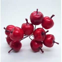 Jablíčka na drátku svazek 10 kusů