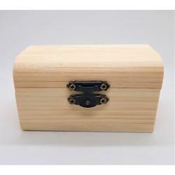 Truhla dřevěná 9 x 5 x 5,5 cm