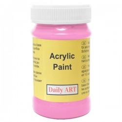 Akrylová barva fuchsiová 100 ml, DailyART