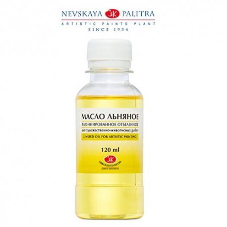 Lněný olej rafinovaný 120 ml St Peterburg