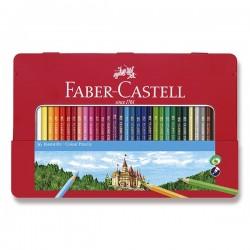 Pastelky sada 36 kusů v kovové krabičce Faber Castell