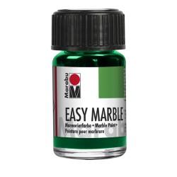 Mramorovací barva tmavě zelená 15 ml Marabu
