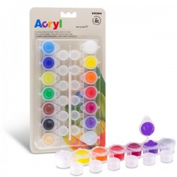 Akrylové barvy sada 14 x 4,5 ml Primo