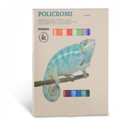 Pastely umělecké prašné 24 kusů Policromi Primo