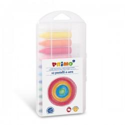 Voskové pastelky 12 kusů Primo