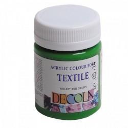Barva na textil Decola, 50 ml, světle zelená