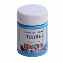 Barva na textil Decola, 50 ml, světle modrá