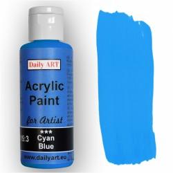 Akrylová umělecká barva Azurová modrá Daily ART