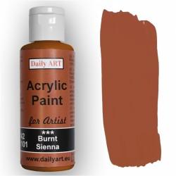 Akrylová umělecká barva Sienna pálená Daily ART