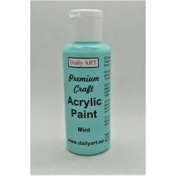Akrylová prémiová barva mátová 50ml Daily ART