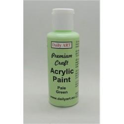 Akrylová prémiová barva světle zelená 50ml Daily ART