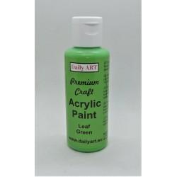 Akrylová prémiová barva listově zelená 50ml Daily ART