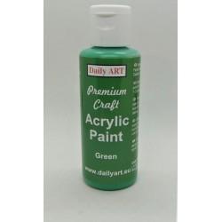 Akrylová prémiová barva zelená 50ml Daily ART