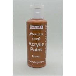 Akrylová prémiová barva hnědá 50ml Daily ART