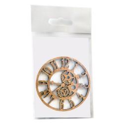 Arabské hodiny 90x90 mm MDF Daily ART