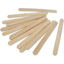 Špachtle dřevěné 50 kusů 110x11 mm
