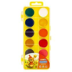 Medové vodové barvy dětské žlutý box