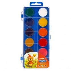 Medové vodové barvy dětské 12 odstínů modrý box