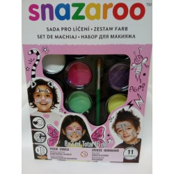 Barvy na obličej, sada, Snazaroo