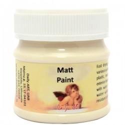 Akrylová barva matná krémová 50 ml