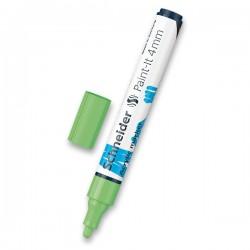Akrylový popisovač světle zelený matný 4 mm
