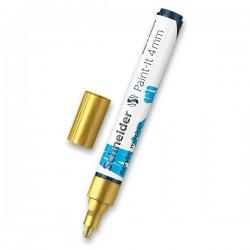Akrylový popisovač zlatý metalický matný 4 mm