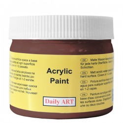 Akrylová barva matná čokoládová 300 ml Daily ART