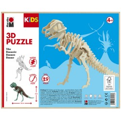 3D Puzzle Dinosaurus 32x23,5 cm Marabu