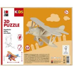 3D Puzzle Letadlo 9x21 cm Marabu
