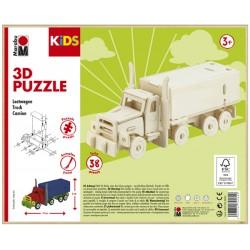 3D Puzzle Kamion 8x19 cm Marabu