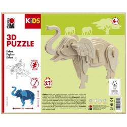 3D Puzzle Koník 13x16 cm Marabu