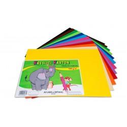 Kreslící karton A3 60 listů 180g/m² barevný mix