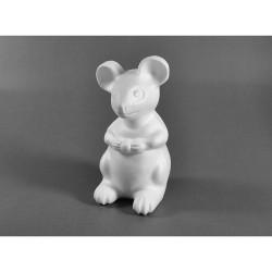Polystyrenový myšák 14x8,5 cm