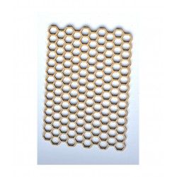 Výřezy z MDF medové plástve malé 12x8 cm Daily ART