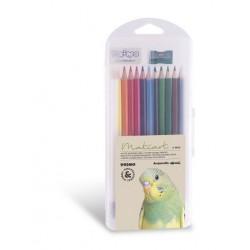 Akvarelové pastelky + pryž + ořezávátko Primo