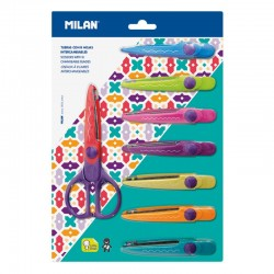 Nůžky dekorační sada 8 kusů