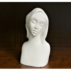 Sádrový odlitek Olivia na výrobu andělek 11x6 cm