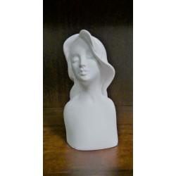 Sádrový odlitek hlava Rose 9,5 x 5 cm