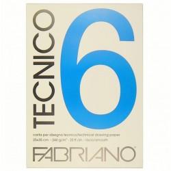 Blok Tecnico 25x35 cm 240g/m² 20 listů Fabriano