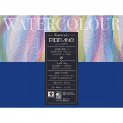 Blok na akvarel 36x48 cm 20 listů 300g/m² 25% bavlna Fabriano