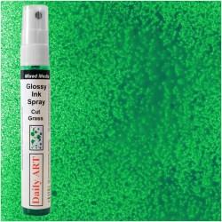 Lesklý inkoustový sprej zelený trávový 30 ml Daily ART