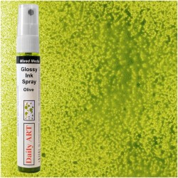 Lesklý inkoustový sprej olivový 30 ml Daily ART