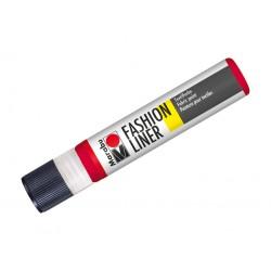 Fashion liner červený 25ml Marabu